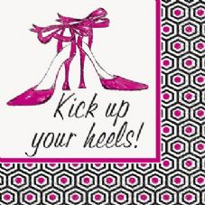 16 Kick Up Your Heels Small Napkins